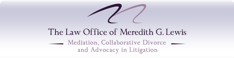 The Law Office of Meredith G. Lewis, Mediation and Collaborative Divorce